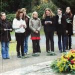 Geschichtsstunde auf dem Friedhof