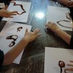 Malen mit Schokolade 2