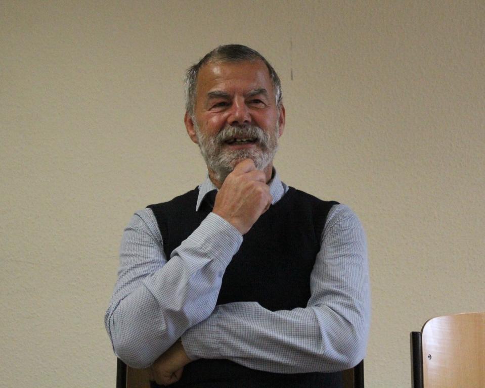 Dr. Frank Eigenfeld  erzählt von seinem Leben in der DDR