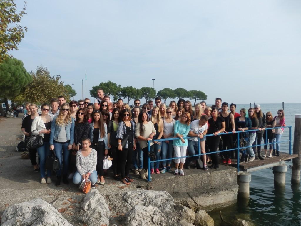 gemeinsam in Italien: FOS 12a und 12c