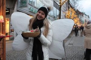 Franziska Oltrogge, ein Weihnachtsengel