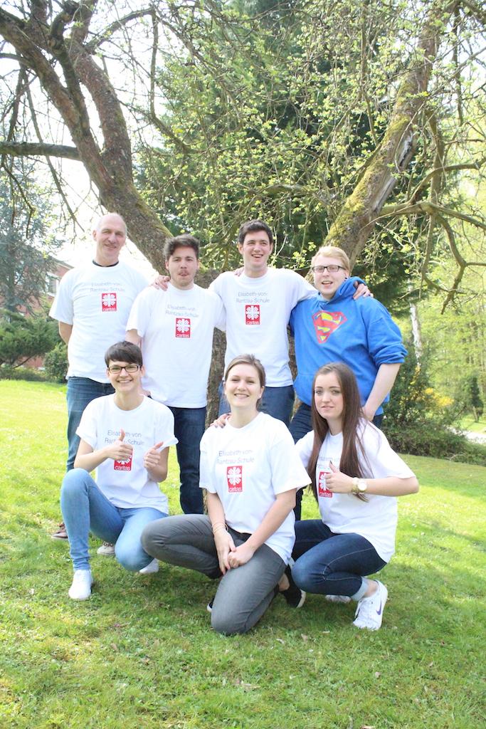 Team der Elisabeth-von-Rantzau-Schule