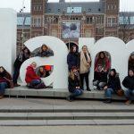 Amsterdam mit dem Ok b: Käse, Tulpen, Fahrräder, Orange, Multikulti